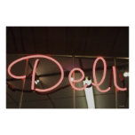 Neon Sign Poster