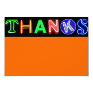 NEON SIGNS Bar Bat Mitzvah Thank You Card Personalized Invitation