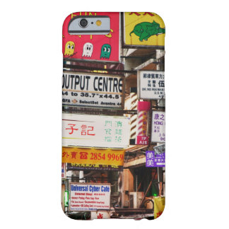 Neon signs in the streets of Hong Kong Barely There iPhone 6 Case
