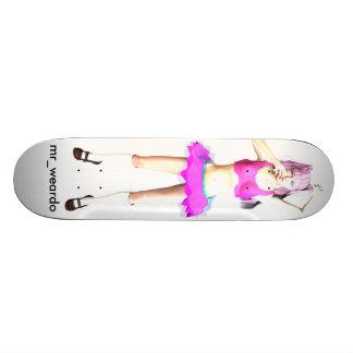 Neon Skateboard Deck