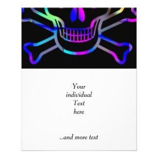 Neon Skull Custom Flyer