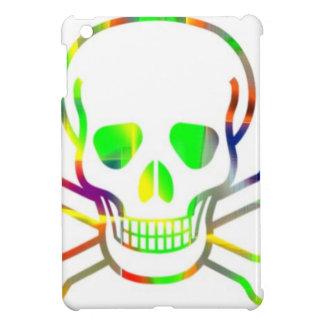 Neon Skull,white iPad Mini Case