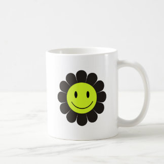 Neon Smiley Face Coffee Mug