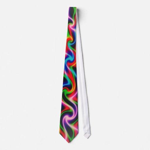 Neon Smoke Tie