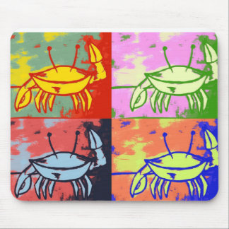 Neon Snap Snap Mouse Pad