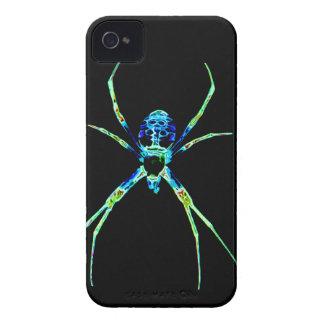 Neon Spider iPhone 4 Case