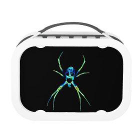 Neon Spider Yubo Lunchbox