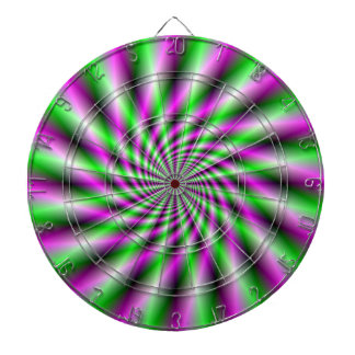 Neon Spinning Wheel  Dartboard