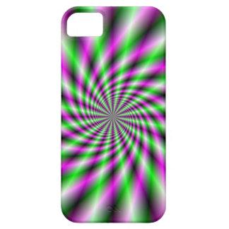 Neon Spinning Wheel iPhone SE/5/5s Case