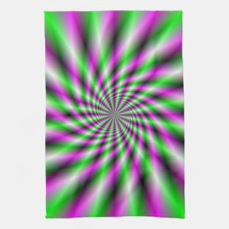 Neon Spinning Wheel  Towel