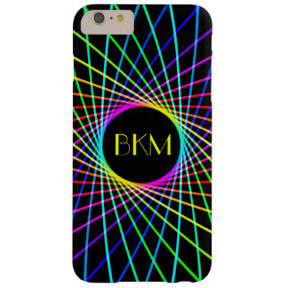 Neon Spiro Abstract Barely There iPhone 6 Plus Case