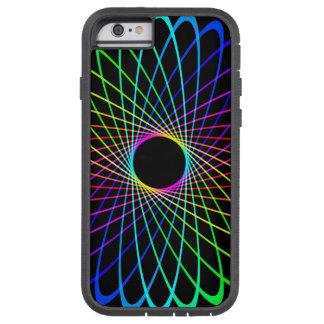 Neon Spiro Abstract Tough Xtreme iPhone 6 Case