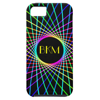 Neon Spiro Abstract iPhone 5 Cases