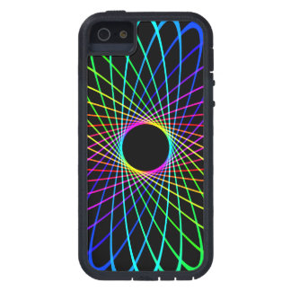 Neon Spiro Abstract iPhone 5 Cover