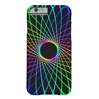 Neon Spiro Abstract Barely There iPhone 6 Case