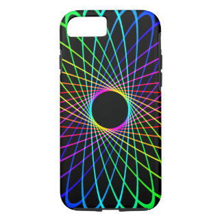 Neon Spiro Abstract iPhone 8/7 Case