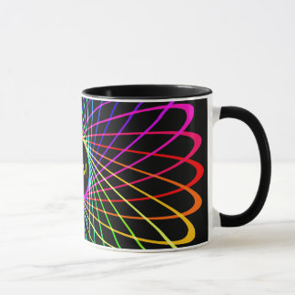 Neon Spiro Abstract Mug