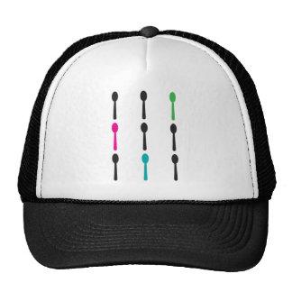 Neon Spoons Mesh Hats