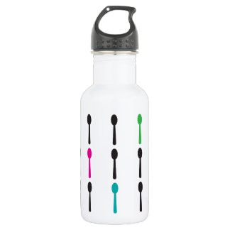Neon Spoons Stainless Steel Water Bottle