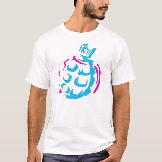 neon spray paint nade T-Shirt