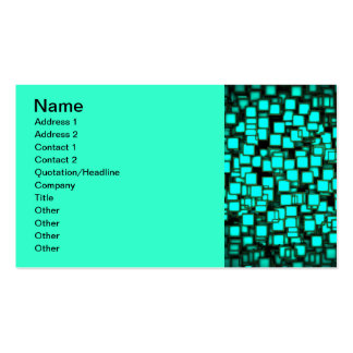 neon_squares-1920x1080 3 Double-Sided standard business cards (Pack of 100)