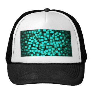 neon_squares-1920x1080 3 trucker hat