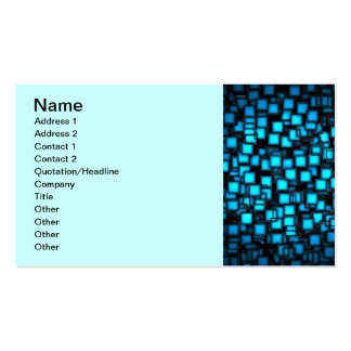 neon_squares-1920x1080 Double-Sided standard business cards (Pack of 100)
