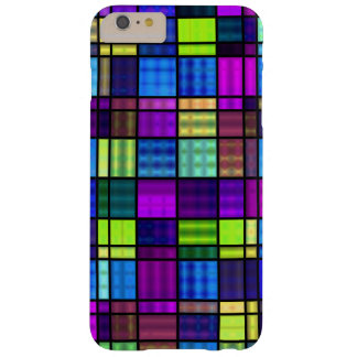 Neon Stained Glass Barely There iPhone 6 Plus Case