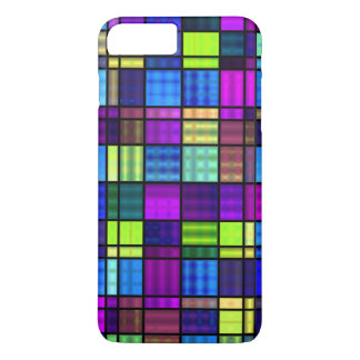 Neon Stained Glass iPhone 8 Plus/7 Plus Case