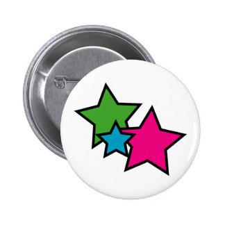 Neon Star Button