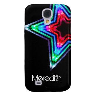 Neon Star Light HTC Vivid Custom Cell Phone Case Samsung Galaxy S4 Covers