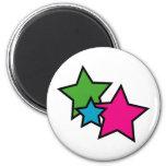 Neon Star Magnet
