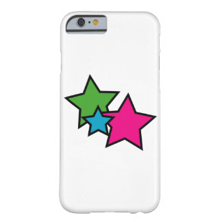 Neon Stars Barely There iPhone 6 Case