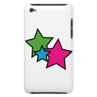 Neon Stars Barely There iPod Cover