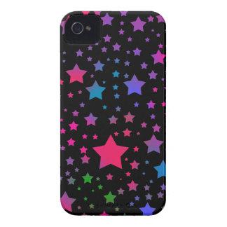 Neon Stars Case-Mate iPhone 4 Case