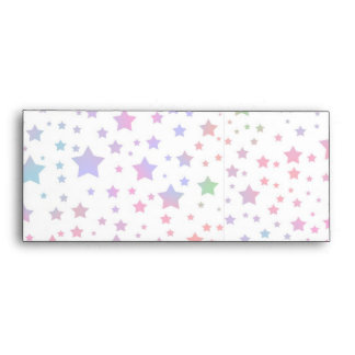 Neon Stars Envelope