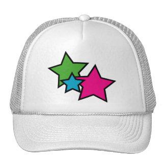 Neon Stars Hat