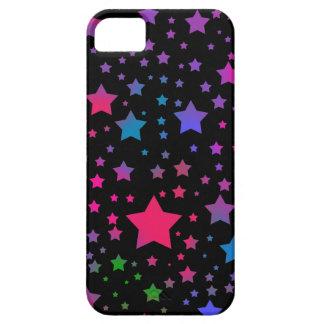Neon Stars iPhone SE/5/5s Case