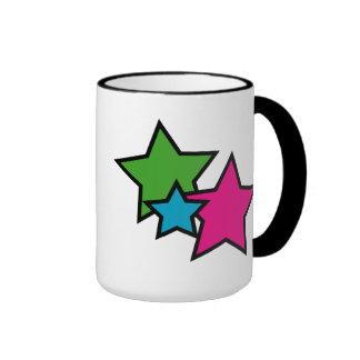 Neon Stars Mug