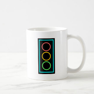 Neon Stoplight Coffee Mug