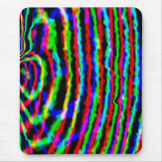 Neon Streamers Mousepad