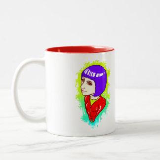 Neon Street Two-Tone Coffee Mug