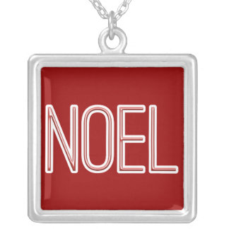 Neon Style Noel Pendants