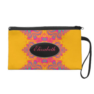 Neon Summer Trend Fashion Wristlet Bags