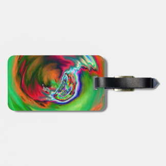 Neon Symphony Marble Bag Tag