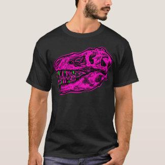 Neon T-Rex Skull Shirt