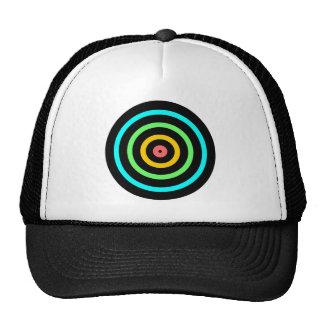 Neon Target Trucker Hat