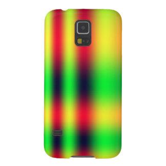 Neon Tartan Galaxy S5 Covers