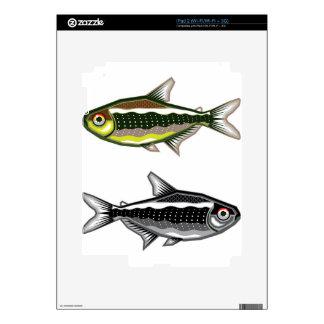 Neon Tetra aquarium fish Skins For iPad 2