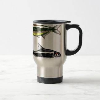 Neon Tetra aquarium fish Travel Mug